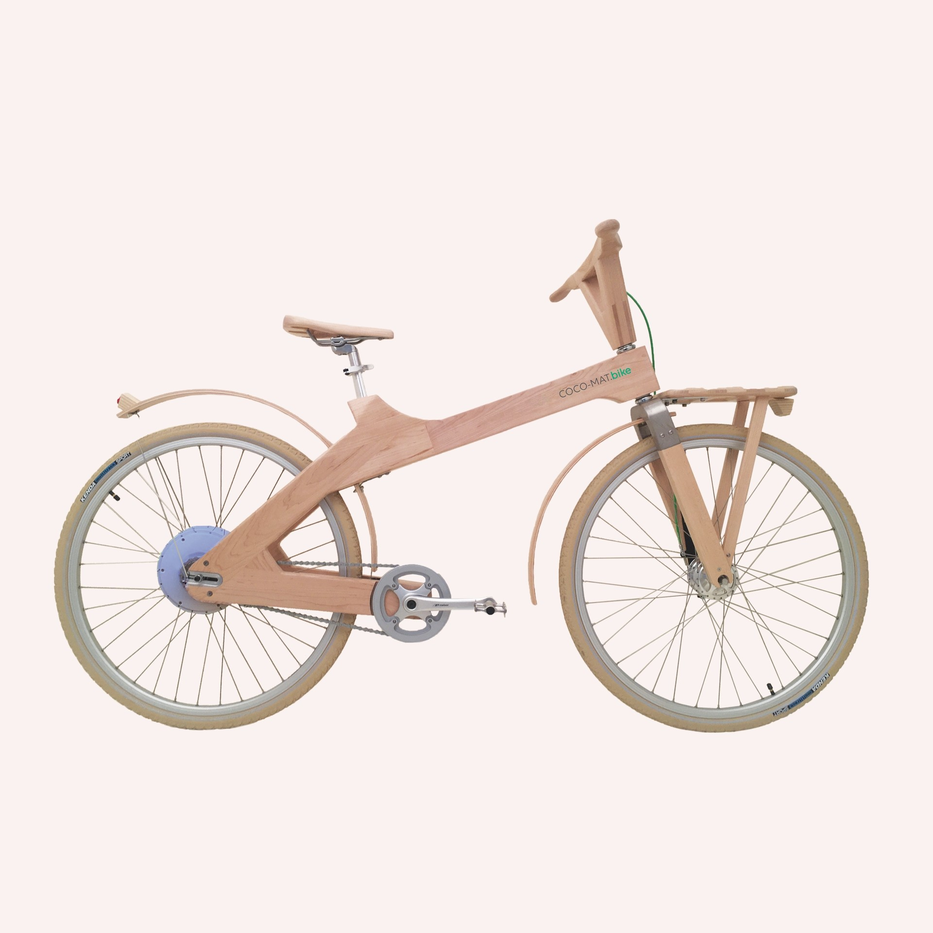 Wooden Bike Odysseus E-bike