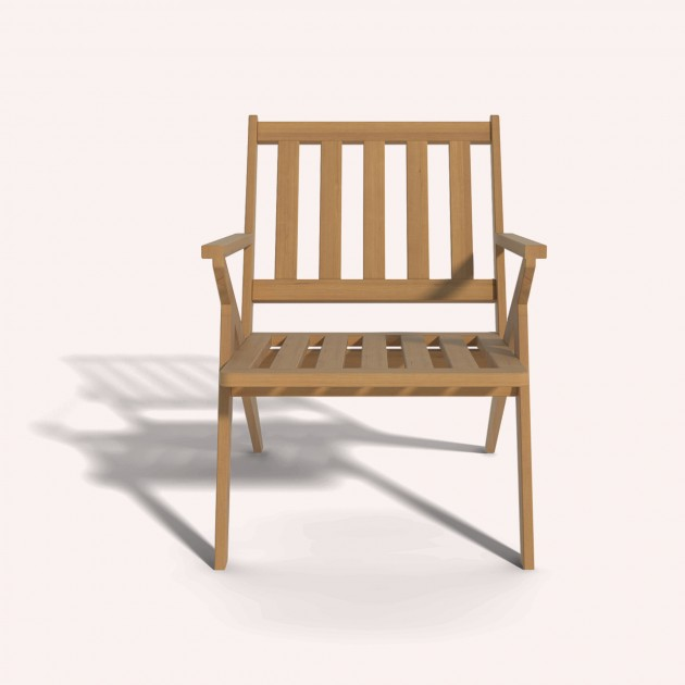 Outdoor Wooden Chairs With Arms