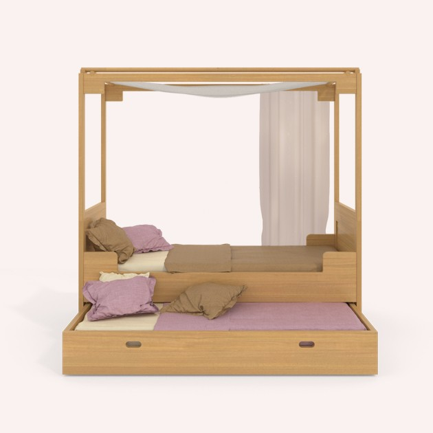 Bed Danai with ceiling