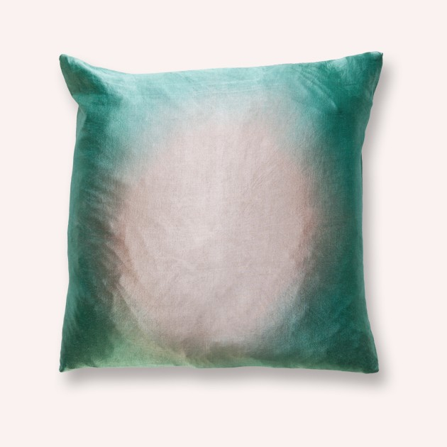 Cushion cover Sirina Saten Seagreen