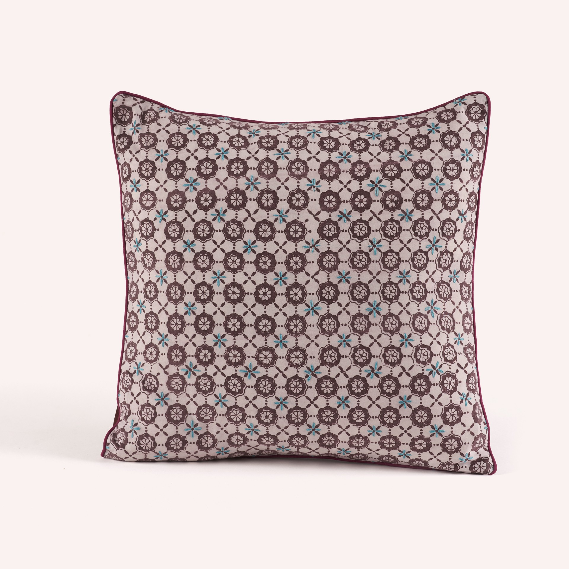 Cushion Cover Persa Purple Flowers