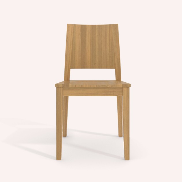natural wood dining chairs coco mat