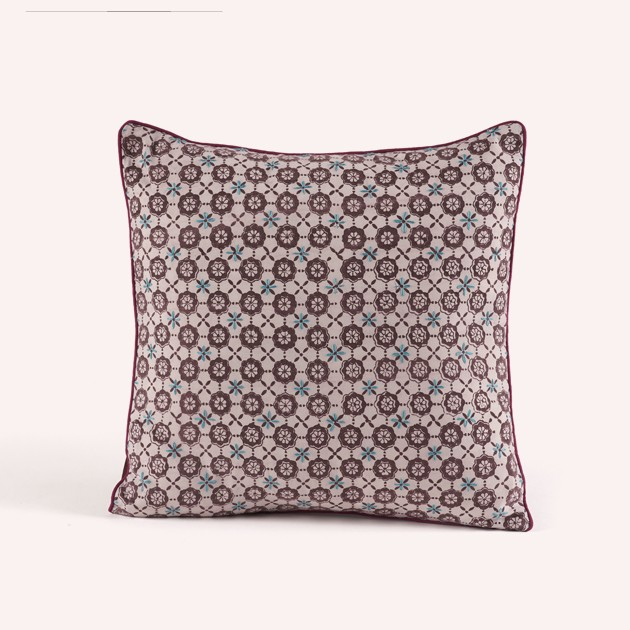 Decorative Pillows Accessories COCOMAT Stunning Brown And Turquoise Decorative Pillows