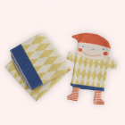 Baby blanket inside a Puppet