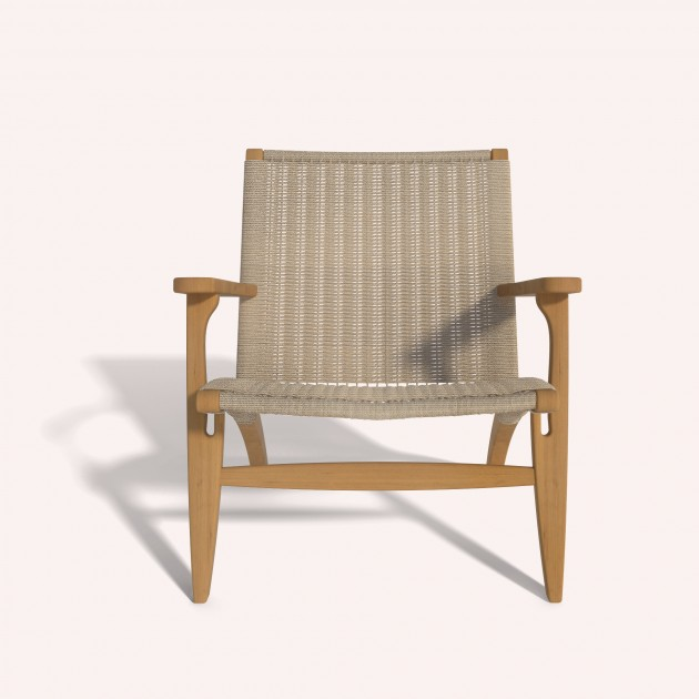 Wooden - Lounge Arm Chair Ilios