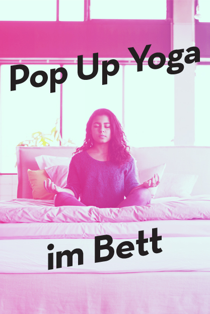 pop up yoga im bett coco mat. Black Bedroom Furniture Sets. Home Design Ideas